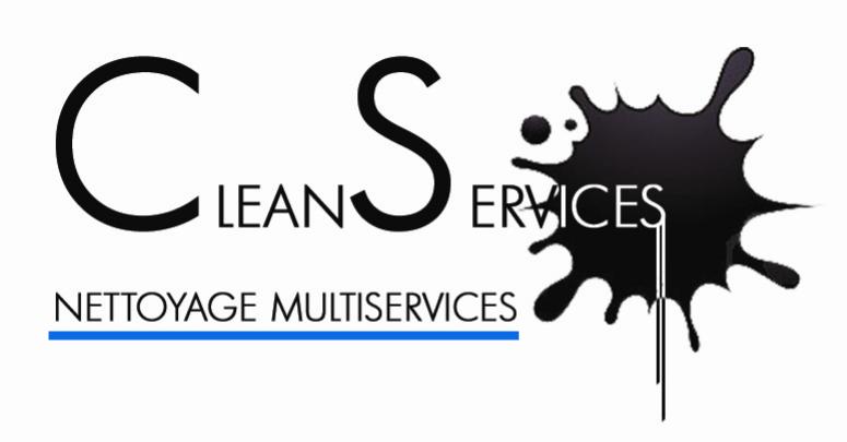 Logo CS noir bande bleue